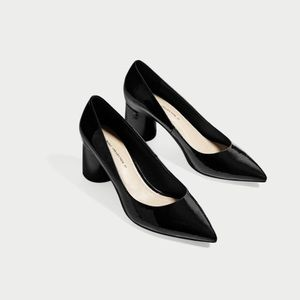 $5 OFF TODAY ONLY Zara Pointed Toe Round Heel